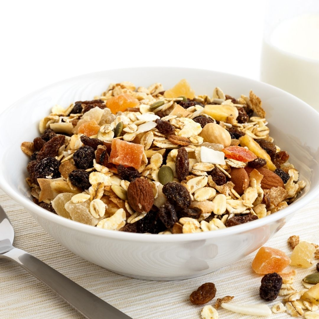 Fruit and Nut Breakfast Bowl