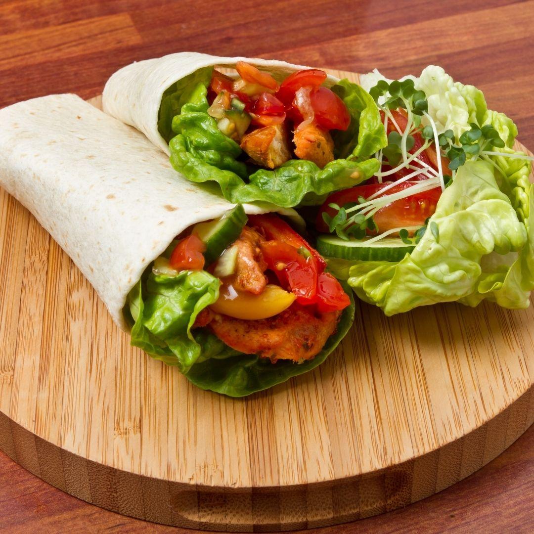 Spicy Chicken & Avocado Wraps